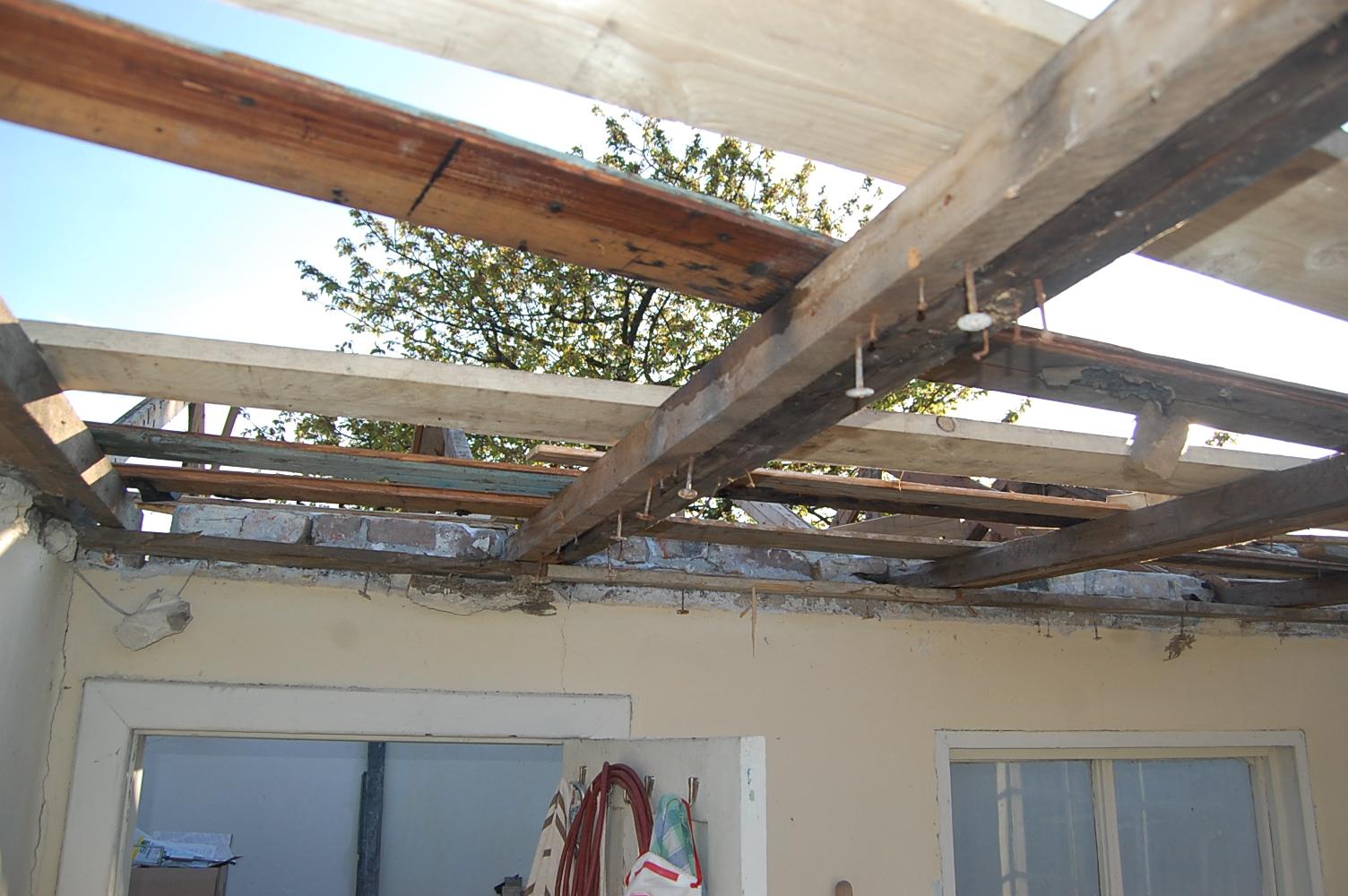 Dachbalken Verkleiden richtfest beim dachbau das reh im garten gartenblog